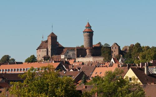 View to Nuremberg Castle