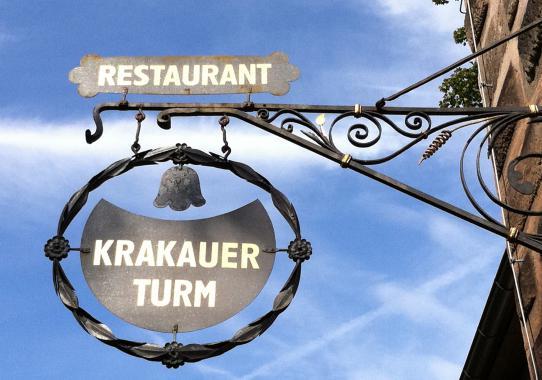 Restaurant Restauration Kopernikus im Krakauer Turm, Nürnberg