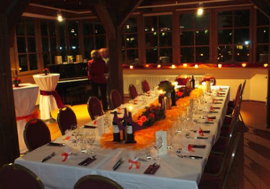 Saal des Restaurant Restauration Kopernikus, Nürnberg
